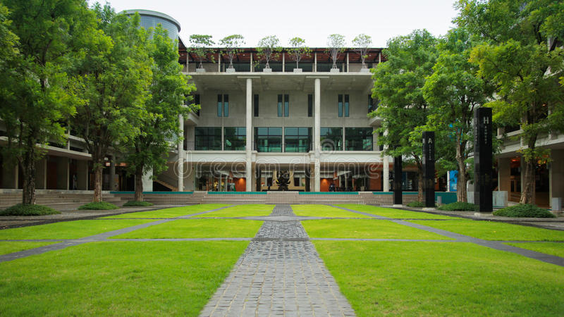 University. Learning Center in university, Bangkok Thailand royalty free stock photo