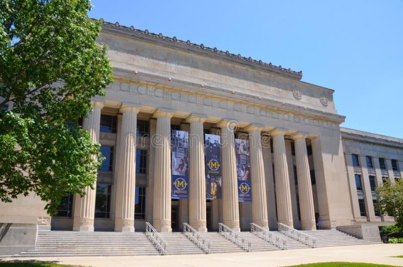University of Michigan Angell Hall royalty free stock photos