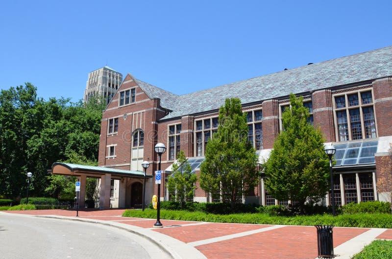 University of Michigan League royalty free stock photo