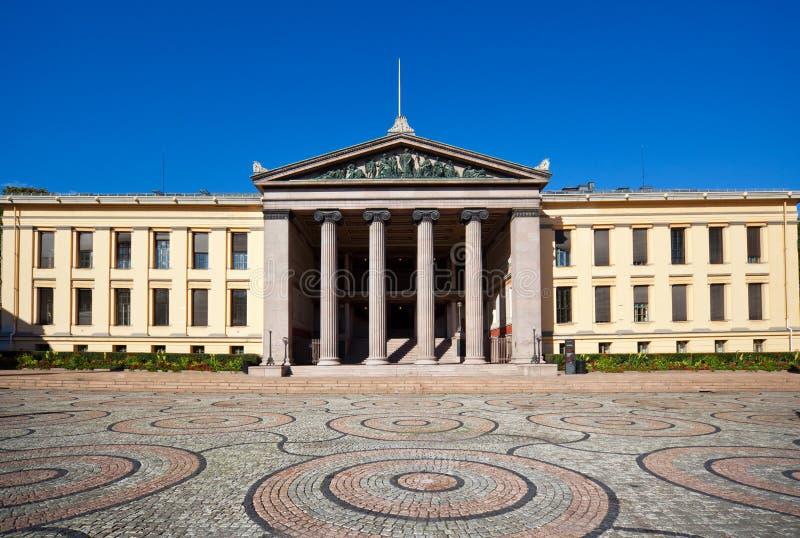 University of Oslo royalty free stock images