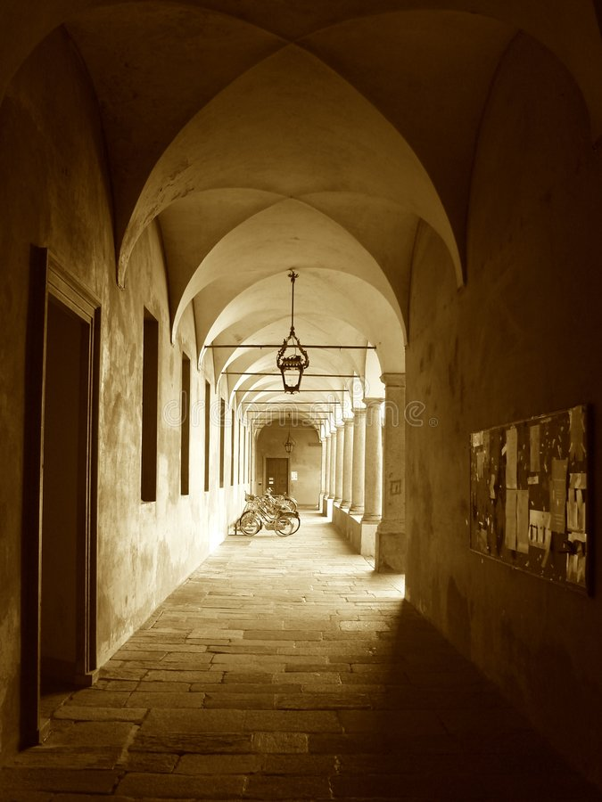 University of Pavia royalty free stock image