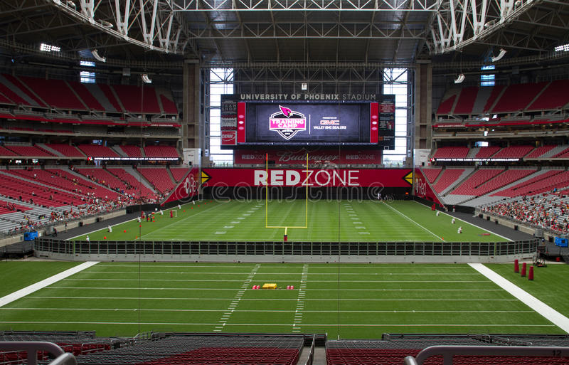University of Phoenix Stadium d'Arizona Cardinals photo stock