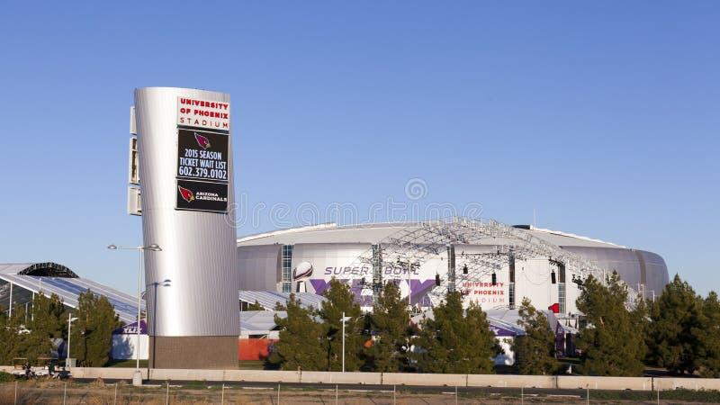 University of Phoenix Stadium, Glendale, AZ images libres de droits