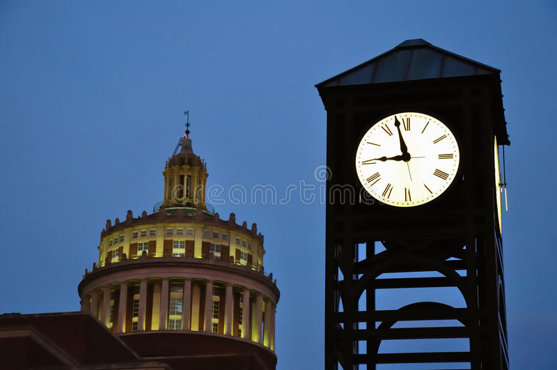 University of Rochester Clock Tower royalty free stock images