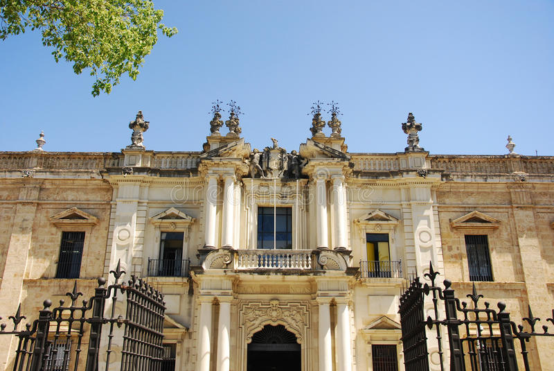 Download University of Seville stock image. Image of building - 19468961