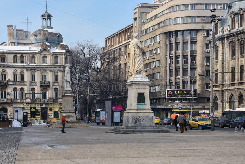 University Square Piata Universitatii royalty free stock photography