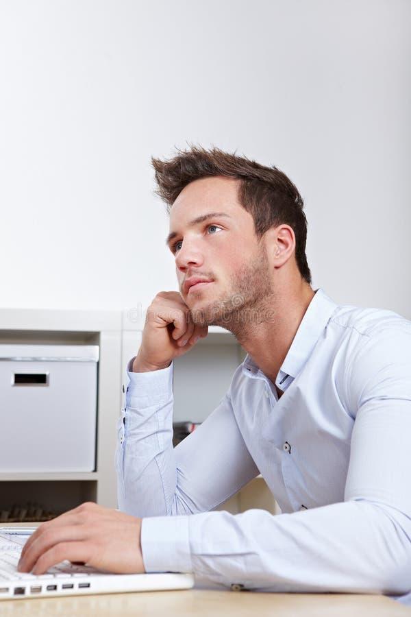 University student at laptop stock photos