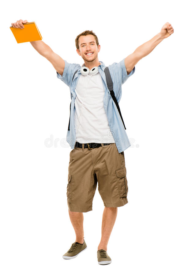 University Student Man Back To School Stock Photography