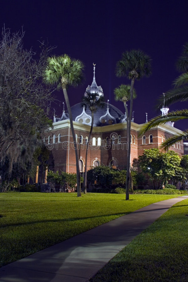 University of Tampa royalty free stock images