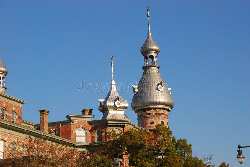 University of Tampa Towers royalty free stock photo