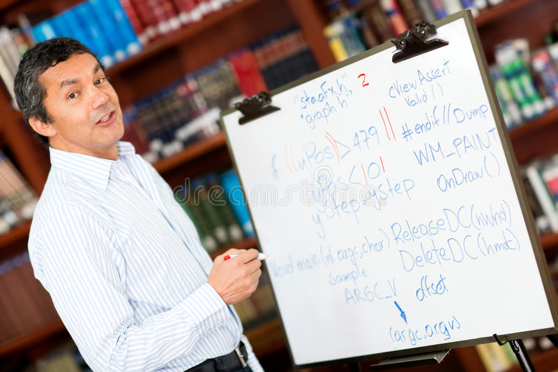 Download University teacher stock photo. Image of lifestyle, learn - 25693312