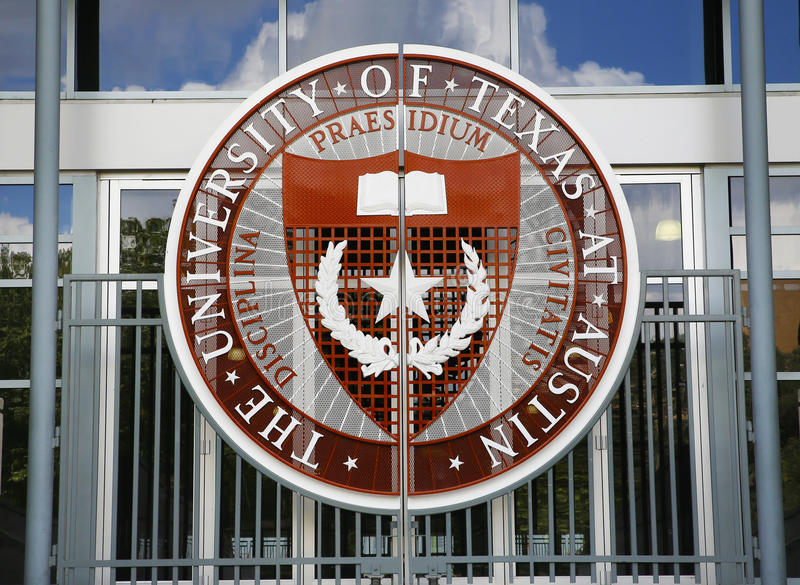 University of Texas at Austin stock image