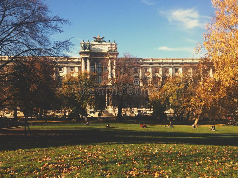 University in Vienna, Austria - travel in Europe concept. Elegant visuals royalty free stock photo