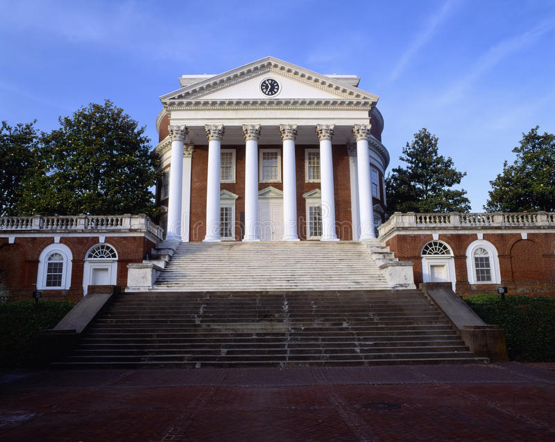 University of Virginia royalty free stock photo
