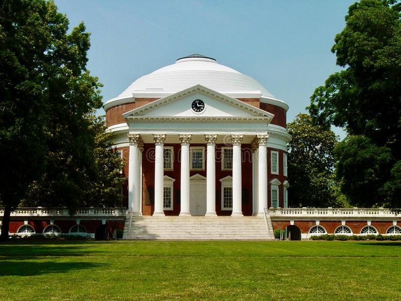University of Virginia royalty free stock images