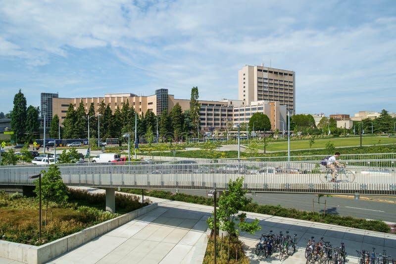 University Of Washington centrum medyczne obraz royalty free