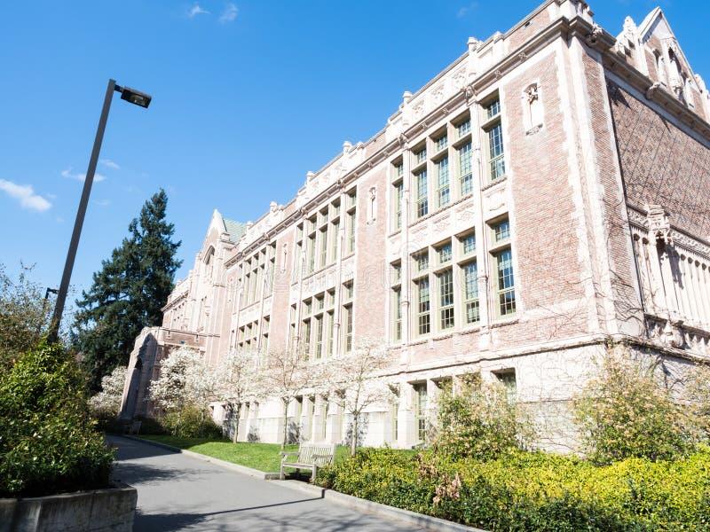 University Of Washington w Seattle w wiośnie zdjęcia stock