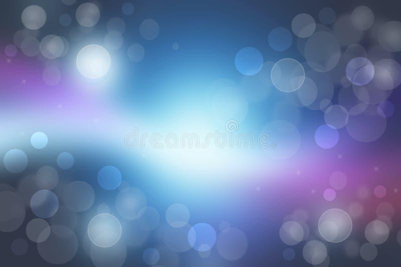 Universo abstracto Pendiente del extracto azul marino al fondo rosado azul claro del universo del cosmos del espacio con las estr fotografía de archivo libre de regalías