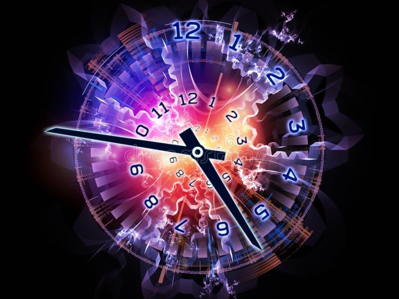 Universo del reloj imagen de archivo libre de regalías