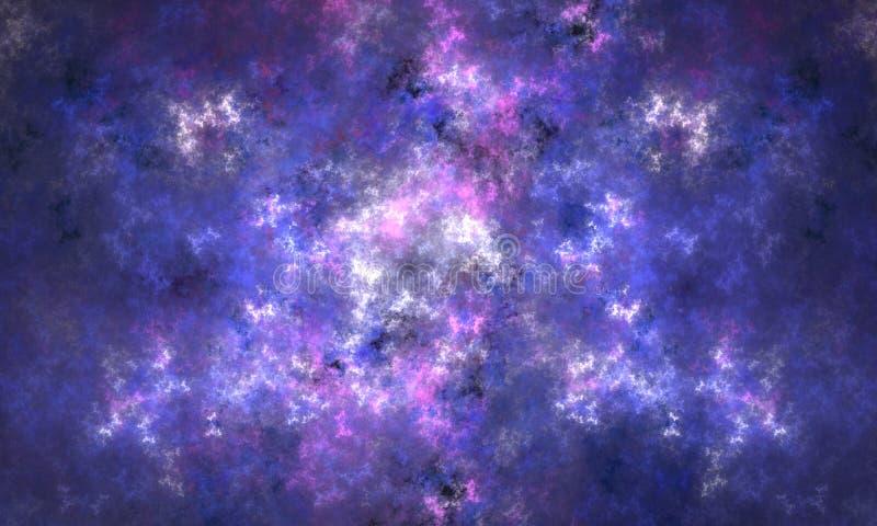 Universo infinito ilustração royalty free