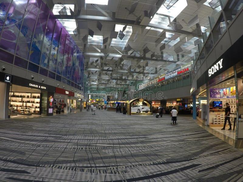 Universo in un aeroporto! fotografia stock libera da diritti