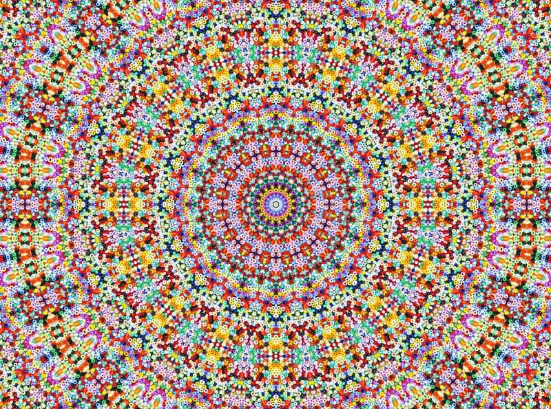 Universum Style Mandala. Pearl Design royalty free stock photo