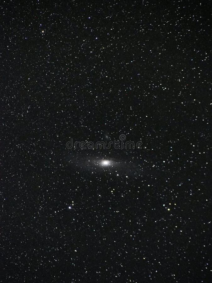 Universumsterne Andromeda Galaxys M31 NGC 224 stockbild