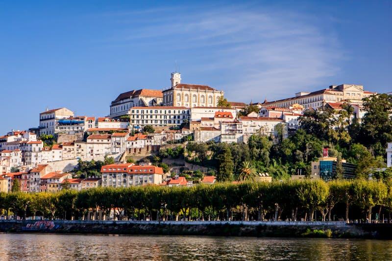 Uniwersytecki grodzki Coimbra, Portugalia obrazy stock