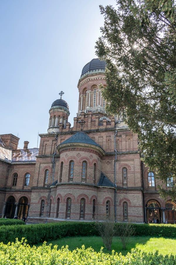 Uniwersytecki kościół Trzy świętego zdjęcie royalty free