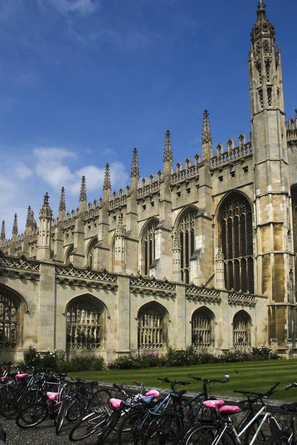 Uniwersytet Cambridge w zlanym królestwie zdjęcie royalty free