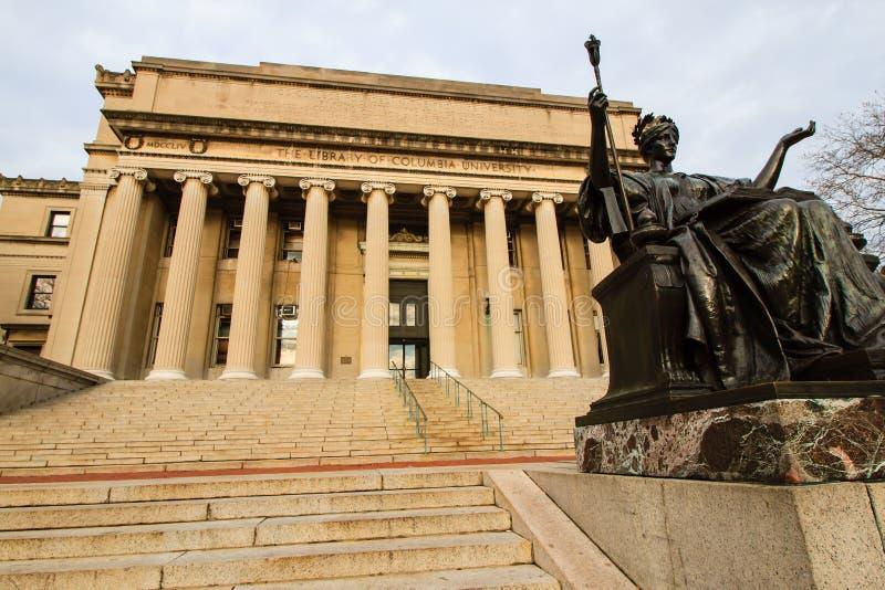 uniwersytet columbia zdjęcie stock