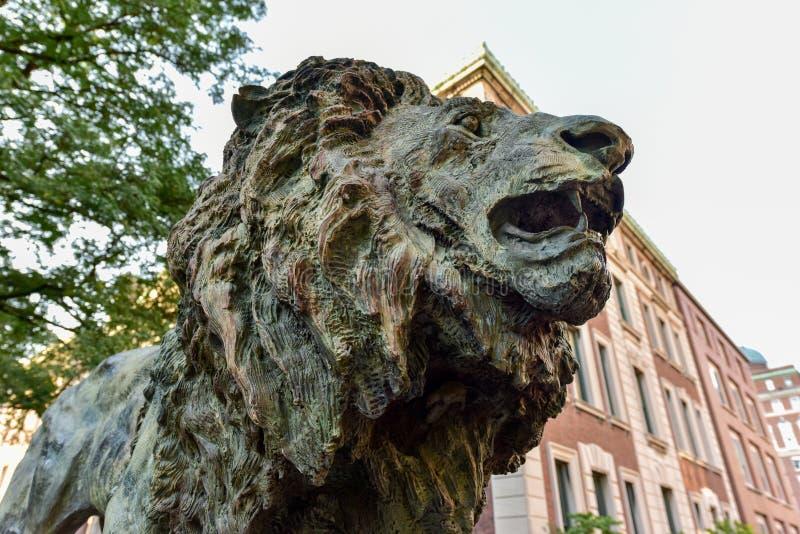 Uniwersytet Columbia biblioteka - Miasto Nowy Jork obrazy stock