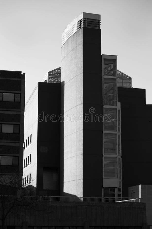 Uniwersytet Connecticut Physics Życiorys budynek obraz stock