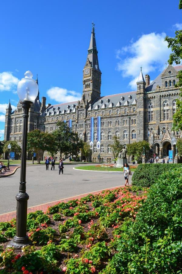 Uniwersytet Georgetown fotografia royalty free
