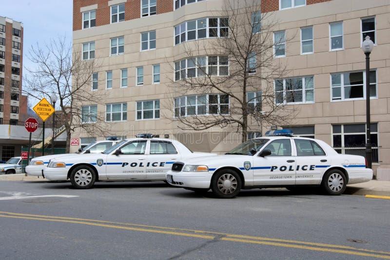 Uniwersytet Georgetown policja obrazy stock