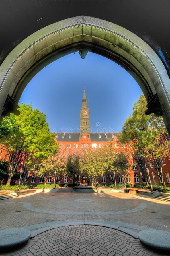 Uniwersytet Georgetown - Waszyngton, DC fotografia stock