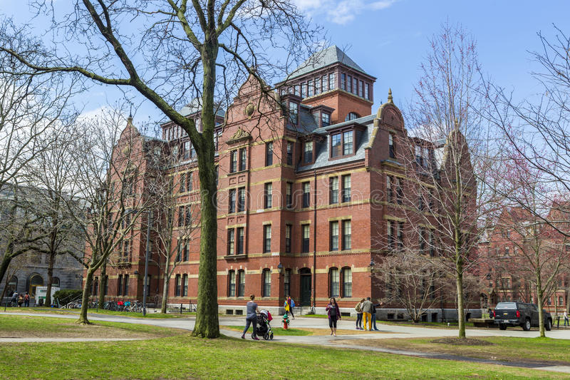 Uniwersytet Harwarda obraz royalty free