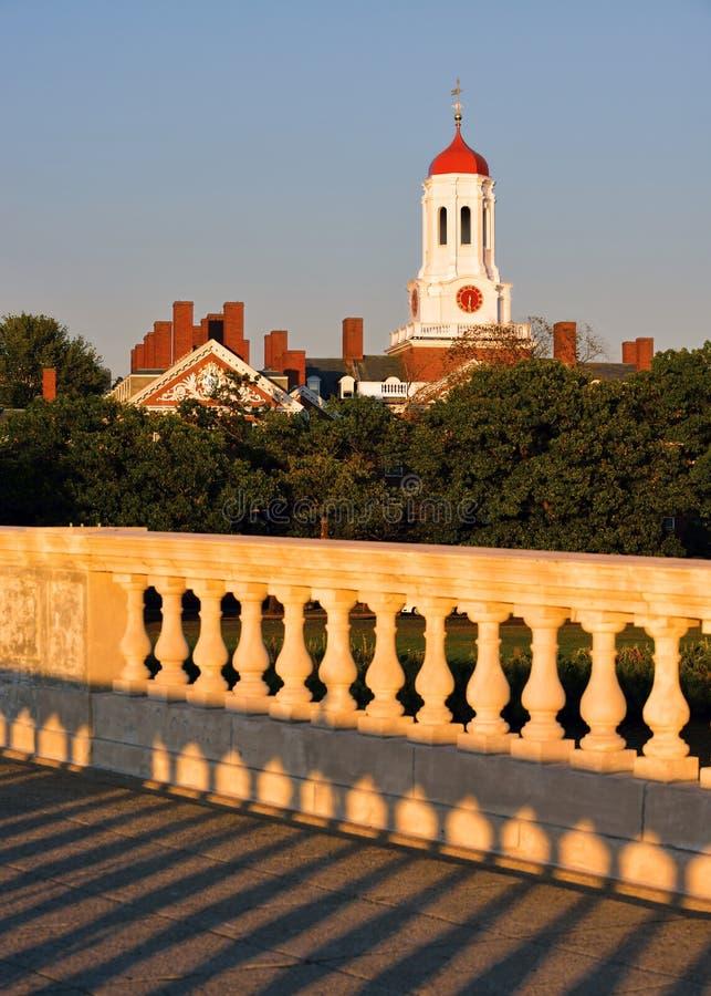 Uniwersytet Harwarda od John tygodni pomnika Foodbridge zdjęcia royalty free
