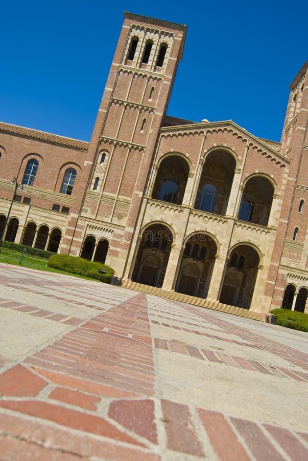 uniwersytet kalifornii kampusu obrazy royalty free