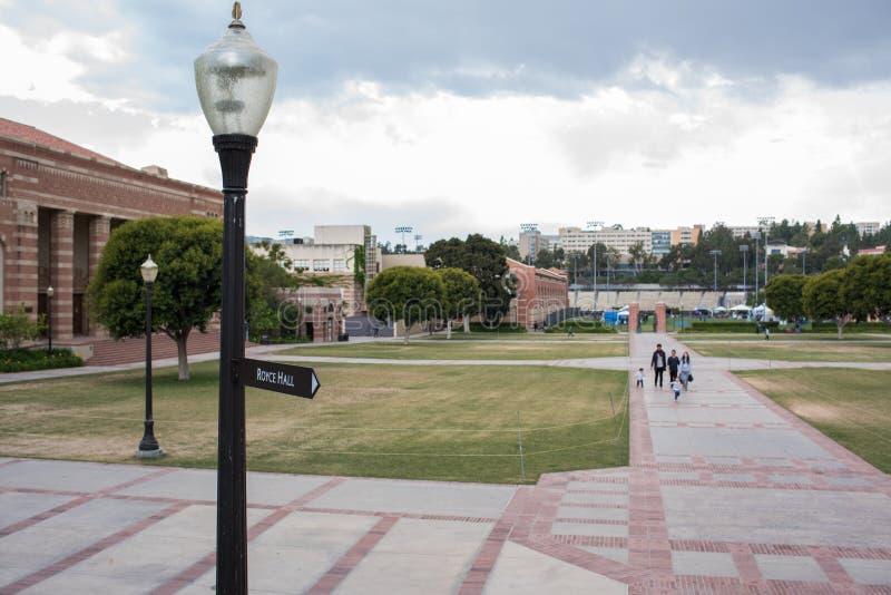 Uniwersytet Kalifornijski, Los Angeles UCLA kampus zdjęcia stock