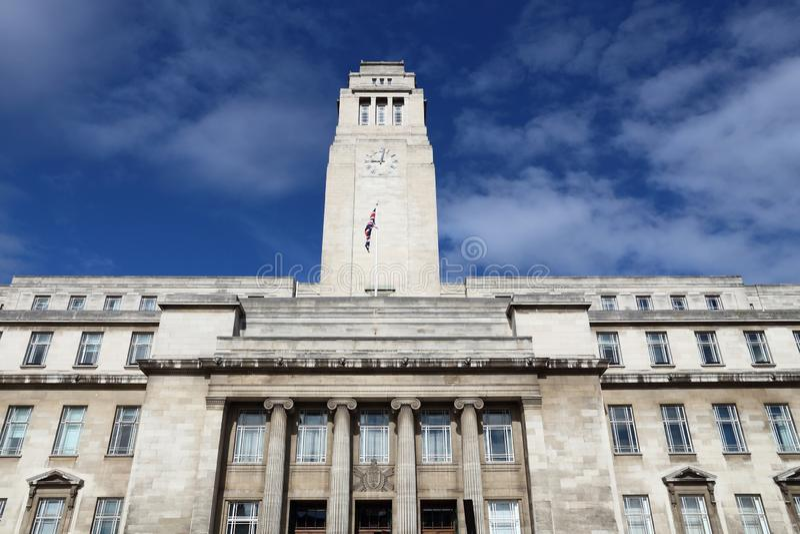 Uniwersytet Leeds zdjęcia royalty free