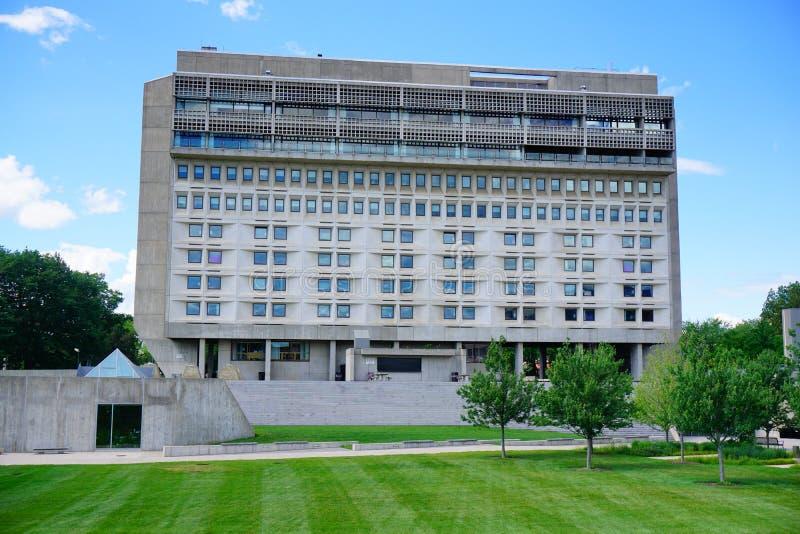 Uniwersytet Massachusetts Amherst kampus obraz stock
