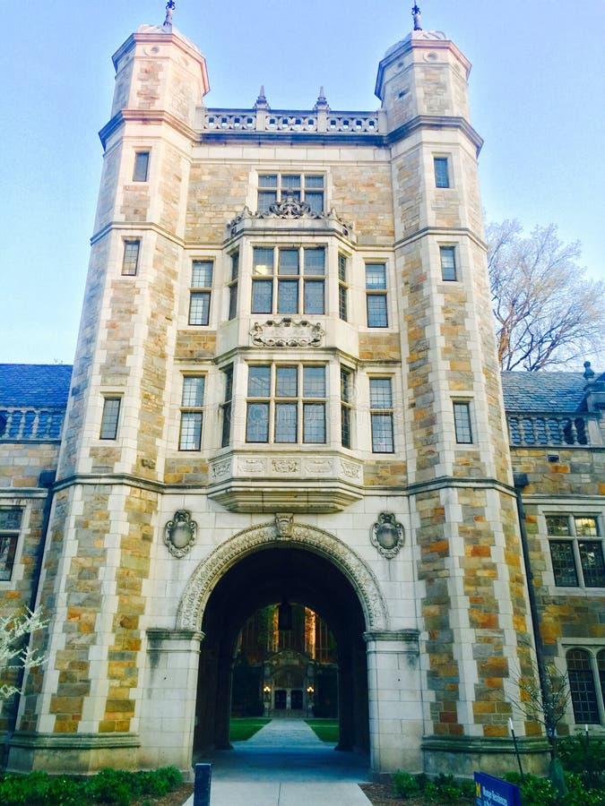 Uniwersytet Michigan prawo zdjęcia stock