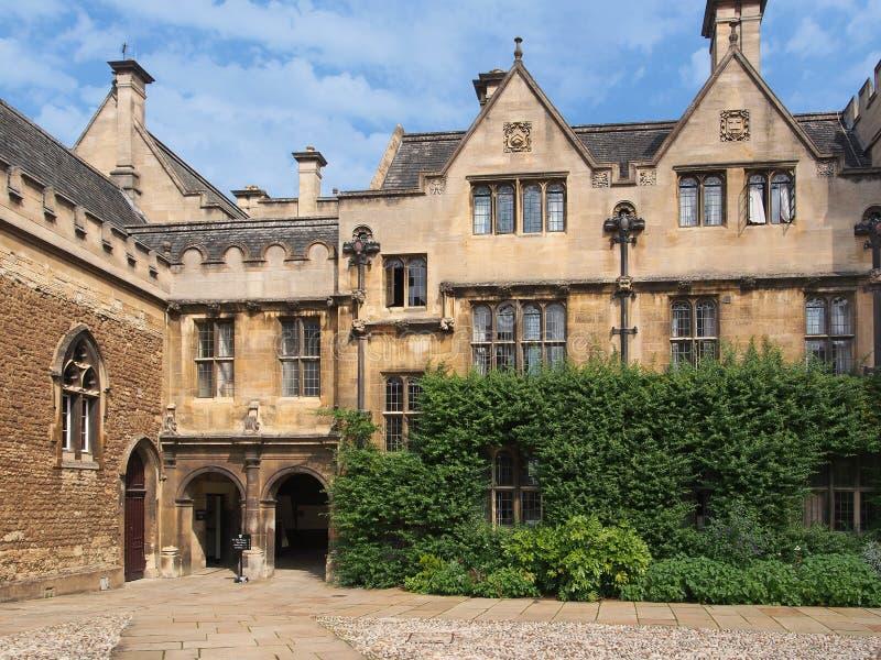 Uniwersytet Oksford, Merton szkoła wyższa obraz stock