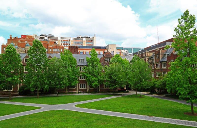 Uniwersytet Pensylwanii siedziba Hall obrazy stock