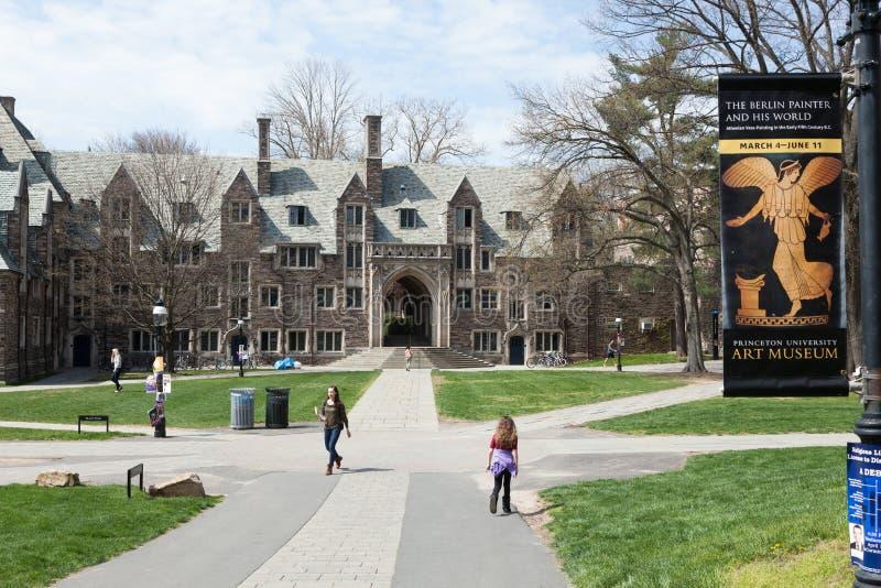 Uniwersytet Princeton Kampus fotografia royalty free