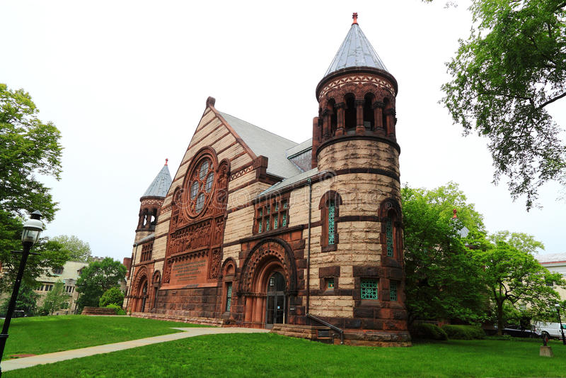 Uniwersytet Princeton kampusu budynek obrazy stock