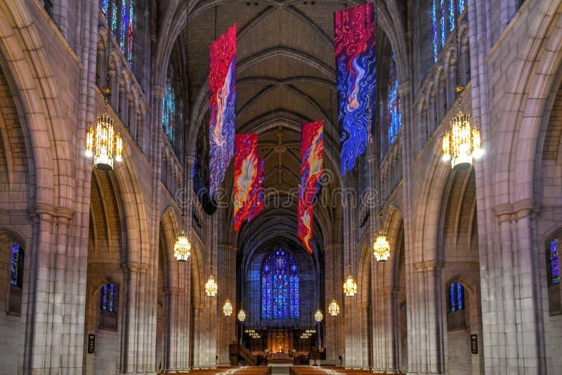 Uniwersytet Princeton kaplica fotografia stock