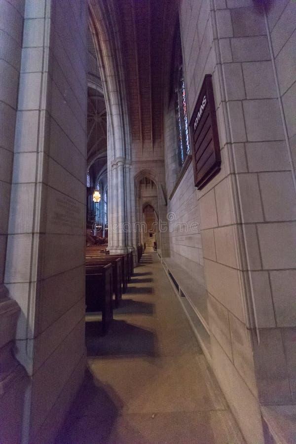 Uniwersytet Princeton kaplica fotografia royalty free