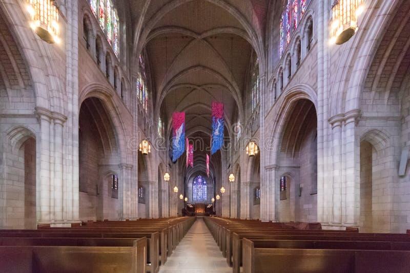 Uniwersytet Princeton kaplica obraz stock